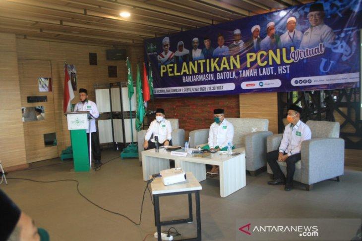 Ibnu Sina masuk dalam kepengurusan PC NU Kota Banjarmasin