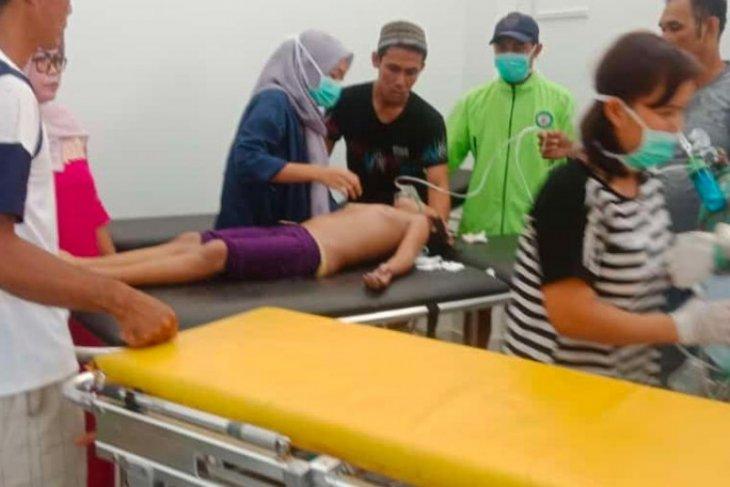 Ayu Lestari korban tenggelam sempat dilarikan ke RS Putussibau