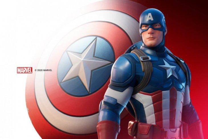 Captain America hadir di Fortnite Epic Games