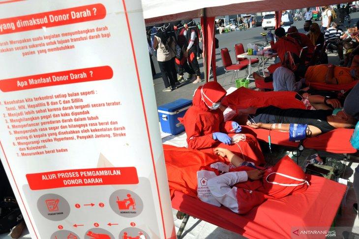 Stok darah di PMI Kota Medan  berkurang akibat pandemi COVID-19