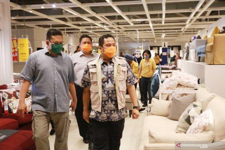 Pembatasan pengunjung wajib dilakukan pusat belanja di Kota Tangerang