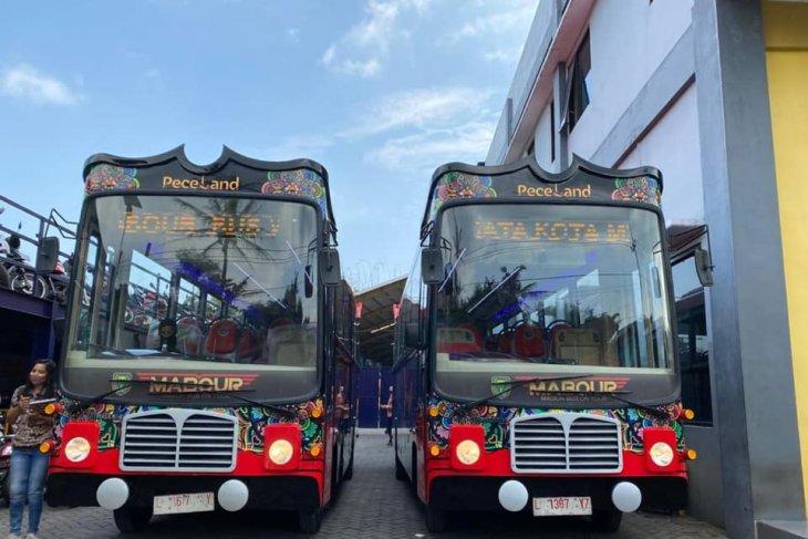 Bus wisata Kota Madiun