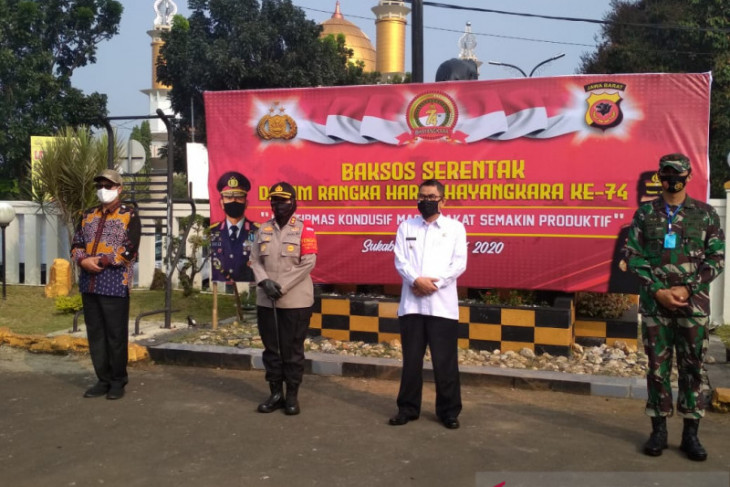 Jelang Pilkada serentak polisi imbau warga Sukabumi tak mudah terprovokasi