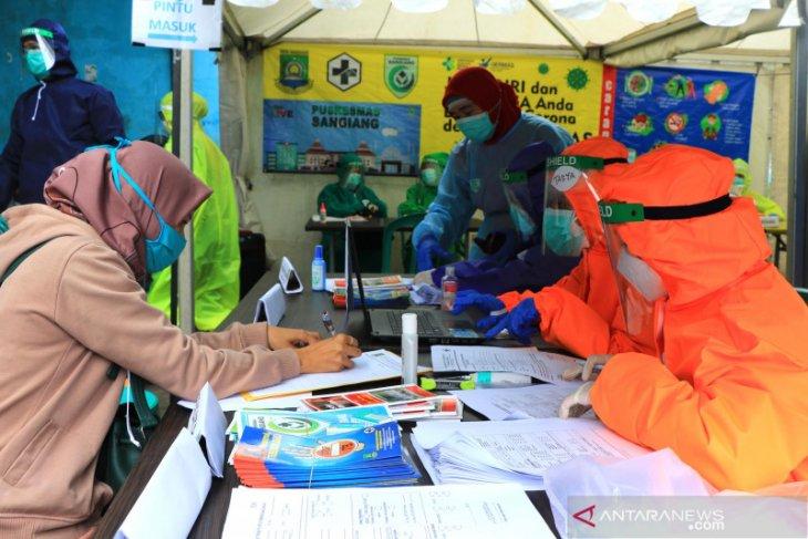 Pusat keramaian jadi sasaran tes cepat COVID-19  Pemkot Tangerang