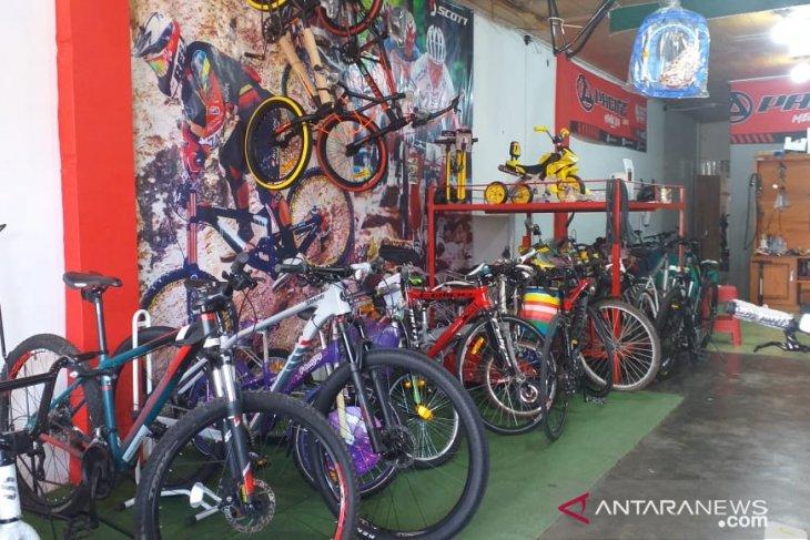 Penjualan sepeda di Belitung meningkat selama pandemi COVID-19