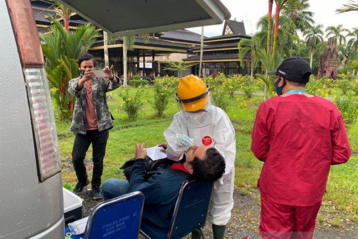 68 warga terjaring razia kepatuhan penggunaan masker di Pontianak
