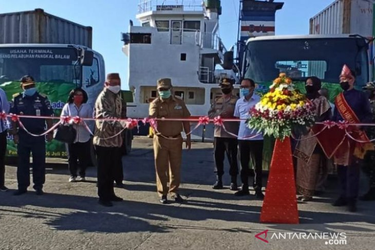 Menteri Koperasi dan UKM lepas ekspor lidi nipah Babel ke Nepal