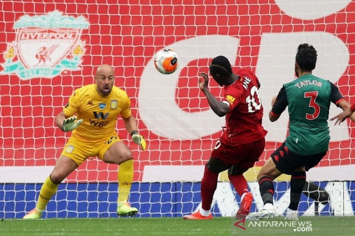Liverpool mendekati rekor sapu bersih laga kandang Liga Inggris