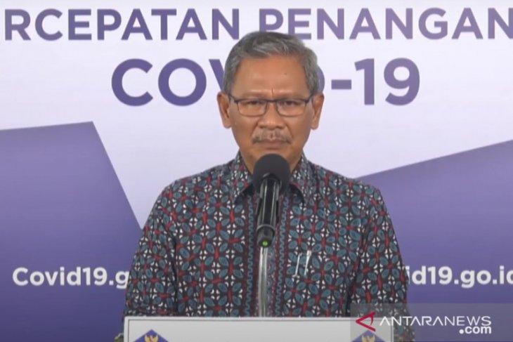 Yurianto optimistis tingkat kematian COVID-19 di Indonesia akan turun