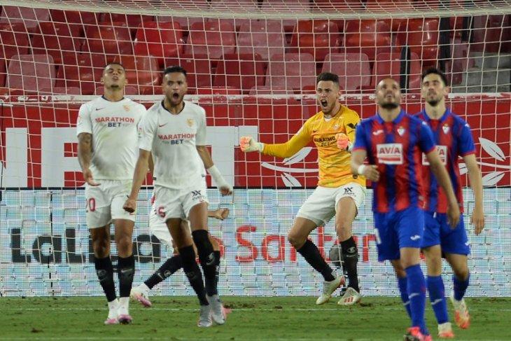 Gol Lucas  Ocampos antar Sevilla tempel Atletico dan cengkeram empat besar