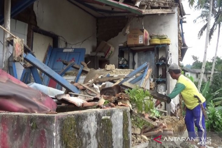 Gempa Banten tidak mengakibatkan kerusakan di Sukabumi