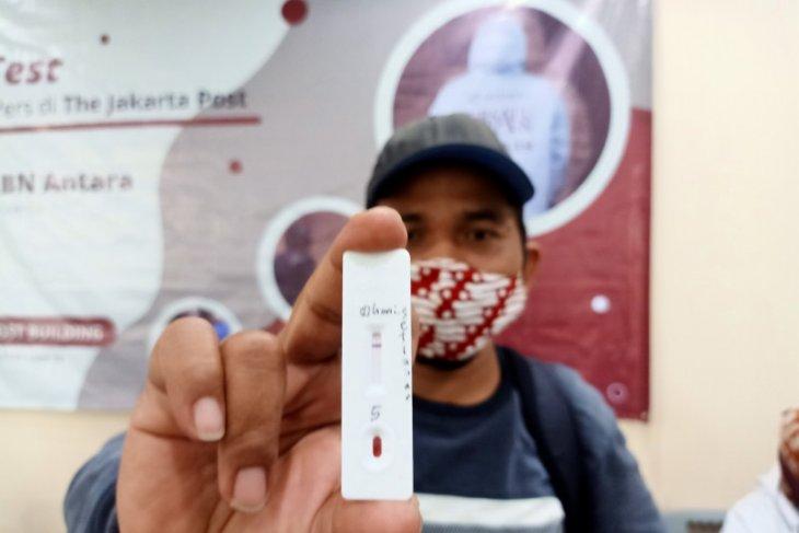 Garuda Indonesia-Pemprov Sulsel kerja sama layani gratis tes cepat COVID-19