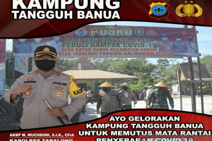 10 Kampung Tangguh Banua berdiri di Tabalong