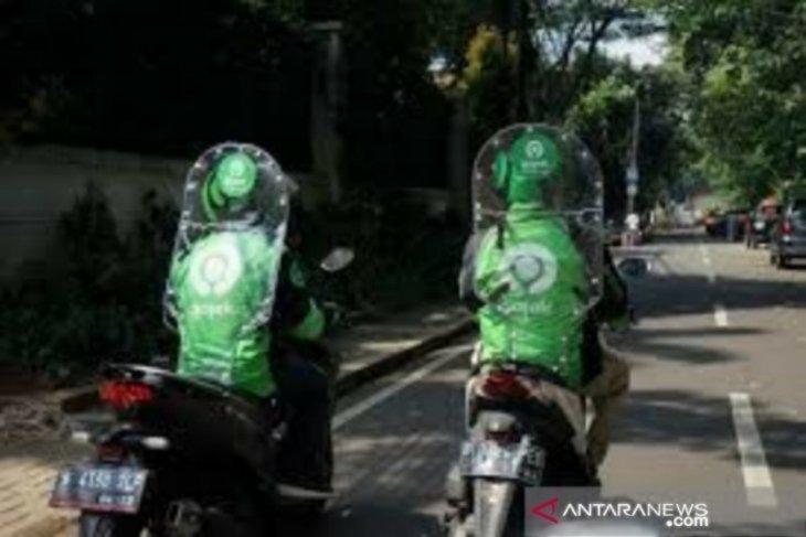 Ojol di Kota Bogor banyak belum pakai pembatas penumpang