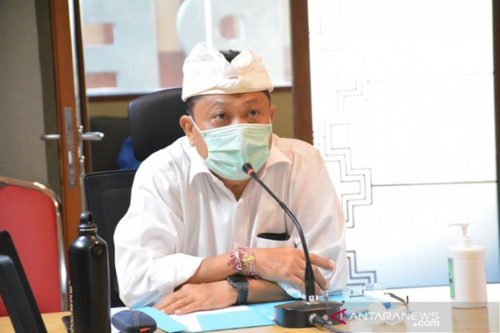 Jumlah kasus positif COVID-19 di Denpasar tercatat  715 orang