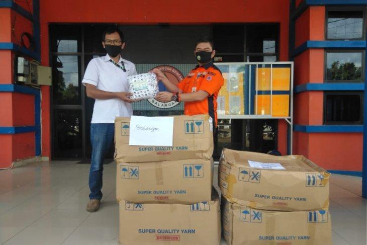 Adaro serahkan 36 ribu masker kepada BPBD Balangan