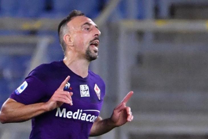 Ribery segera teken kontrak setahun dengan klub promosi Serie A