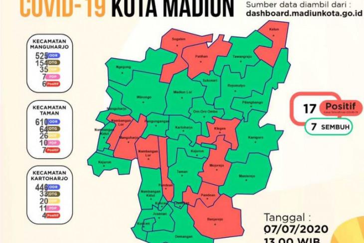 Kota Madiun kembali catat dua kasus baru corona menjadi 17 orang