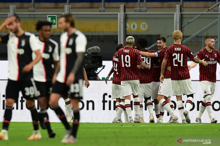 Juventus tergelincir di San Siro,  takluk 2-4 dari Milan