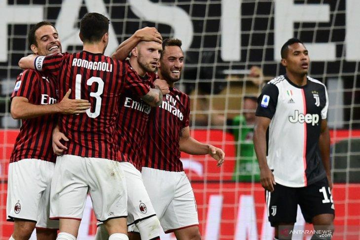 Klasemen Liga Italia setelah  dua tim teratas derita kekalahan