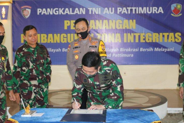 Lanud Pattimura Ambon canangkan zona integritas