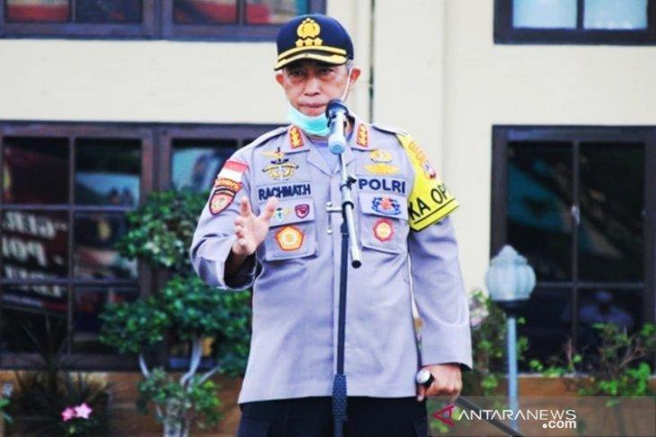 Polresta Banjarmasin gelar latihan sispamkota persiapan pengamanan Pilkada 2020