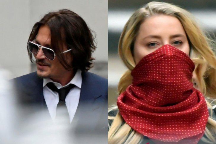 Kesaksian Johnny Depp bantah pukul mantan istri Amber Heard