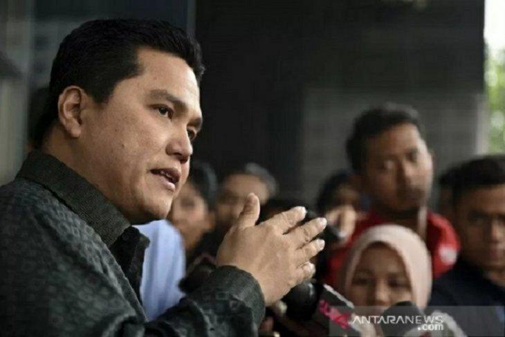 Menteri Erick Thohir perkirakan ekonomi pulih 100 persen pada kuartal I 2022