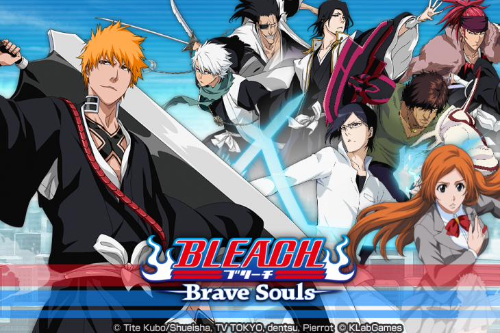 """""""Bleach Brave Souls"""" New Release in Asian Regions Today and Special Campaigns Start!"""