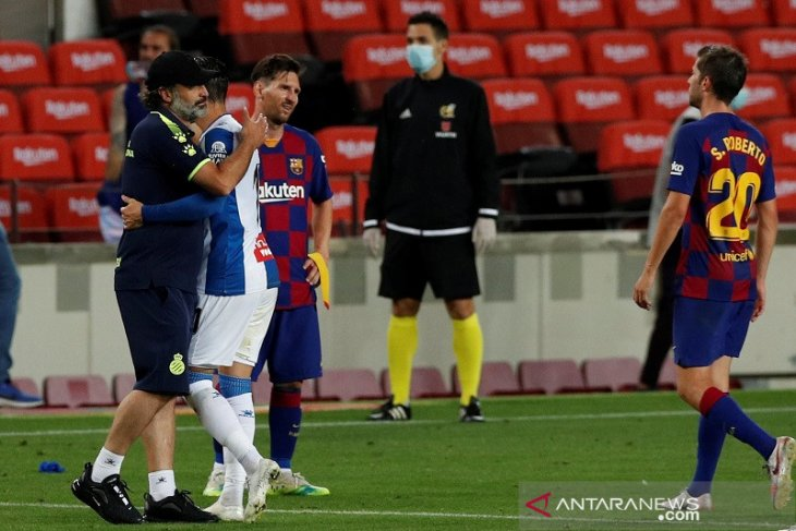Klasemen Liga Spanyol, Barcelona kirim Espanyol ke kasta kedua