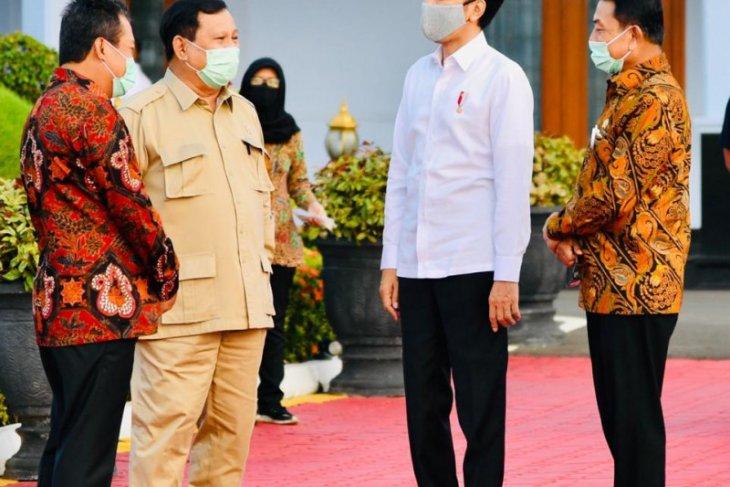 Presiden ke Kalteng tinjau lumbung pangan dan Posko Penanganan COVID-19