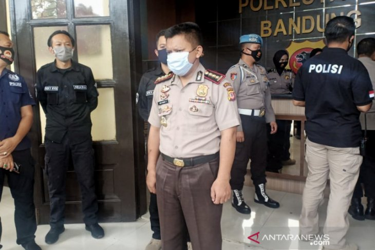 Kombes palsu diringkus Reskrim Polrestabes Bandung