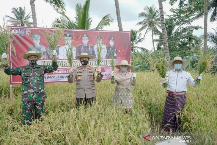 Panglima dan Kapolri  luncurkan Kampung Tangguh Nusantara di Lombok