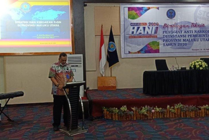 BNNP Malut 76 NPS baru di Indonesia