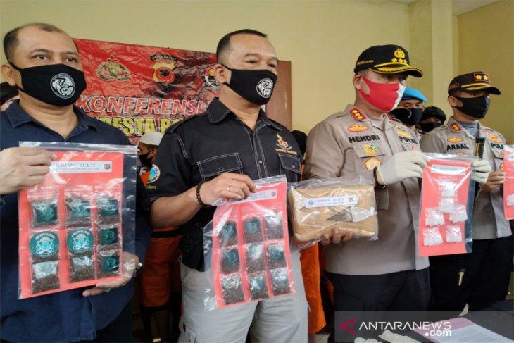 Pengungkapan 19 kasus peredaran narkoba di Kota dan Kabupaten Bogor