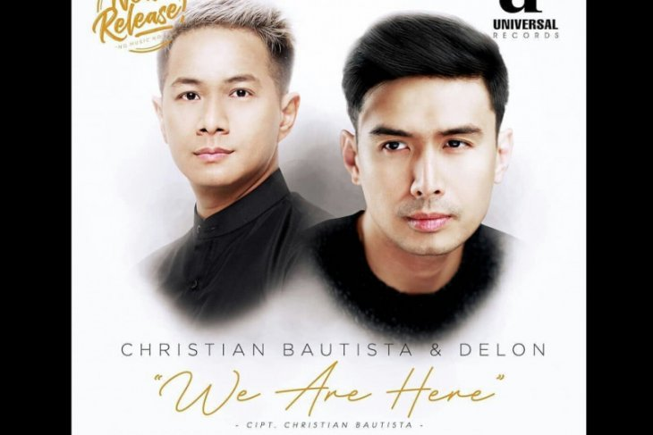 Delon dan Christian Bautista kolaborasi di lagu