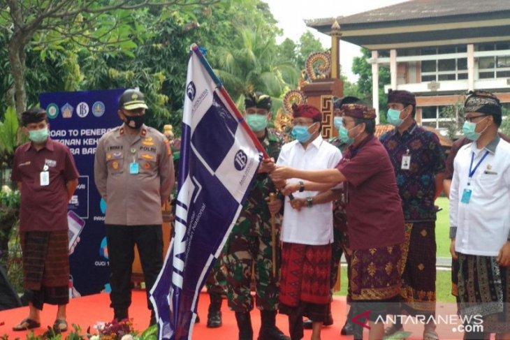 Buka pariwisata, Gubernur Bali lepas tur penerapan protokol Tatanan Era Baru (video)