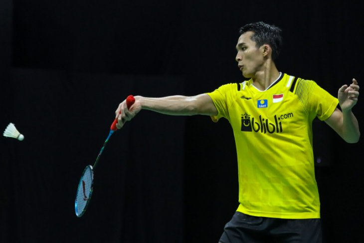 Jonatan tunggal putra pertama lolos ke babak kedua Thailand Open