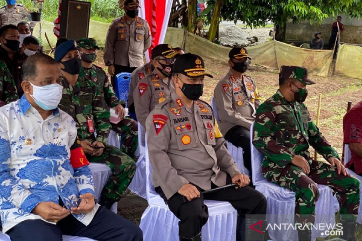 Kapolda Maluku apresiasi upaya wujudkan mandiri ketahanan pangan
