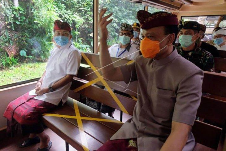 Hari pertama normal baru tahap I di Bali