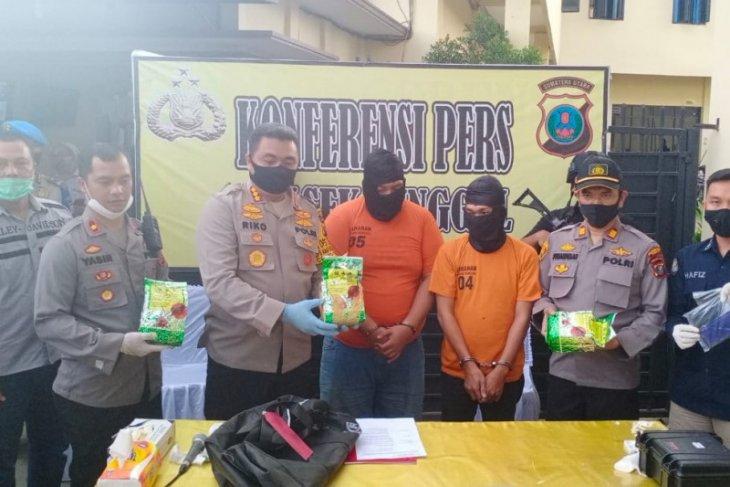 Polisi gagalkan peredaran tiga kilogram sabu jaringan internasional di Medan