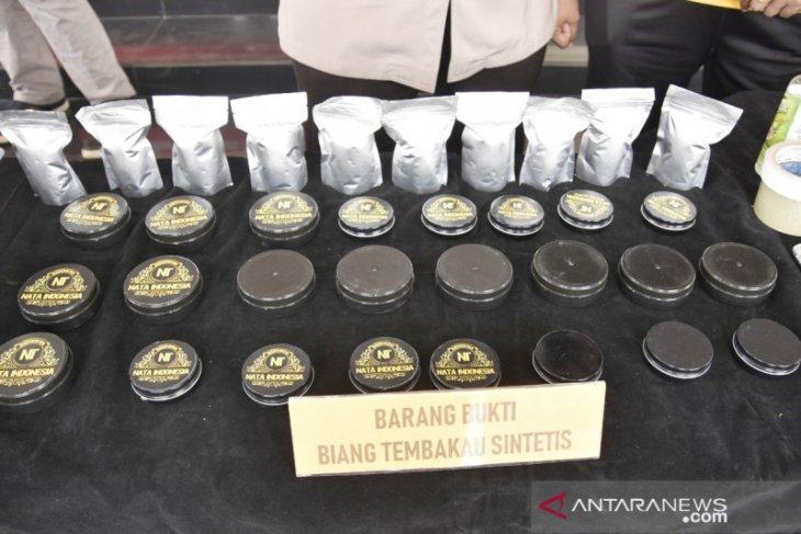 Praktik produksi tembakau gorila di Tajurhalang Bogor dibongkar polisi