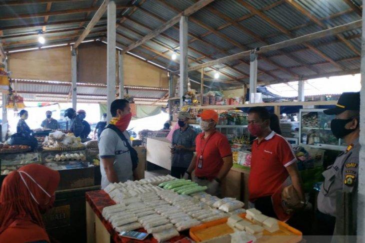 Masuki Normal Baru, Tim Disperindag Bali tinjau Pasar Umum Gianyar