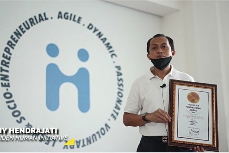 Human Initiative raih penghargaan kategori fundraising CSR terbaik dari IFI