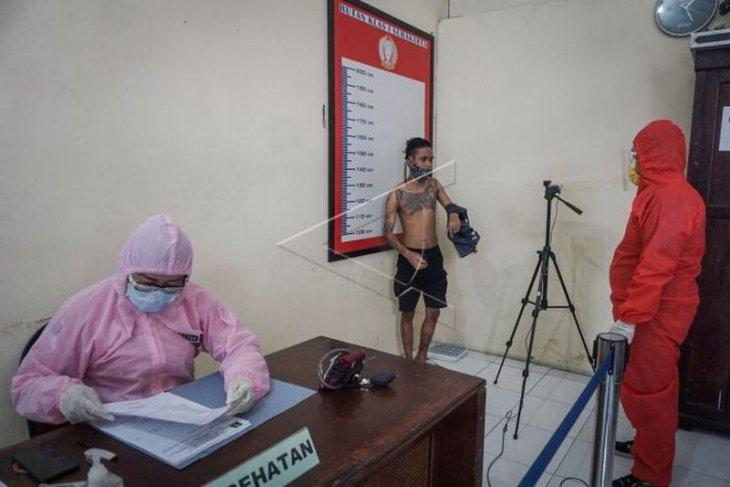 Protokol kesehatan penerimaan tahanan baru