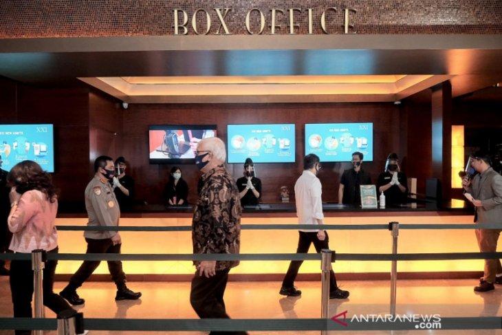 Menparekraf Wishnutama  pastikan bioskop terapkan protokol kesehatan