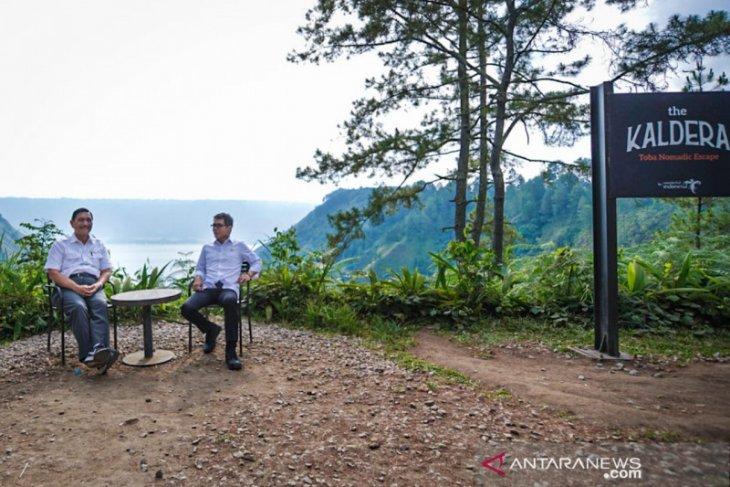 Menparekraf dorong pengembangan ekonomi kreatif di sekitar kawasan Danau Toba