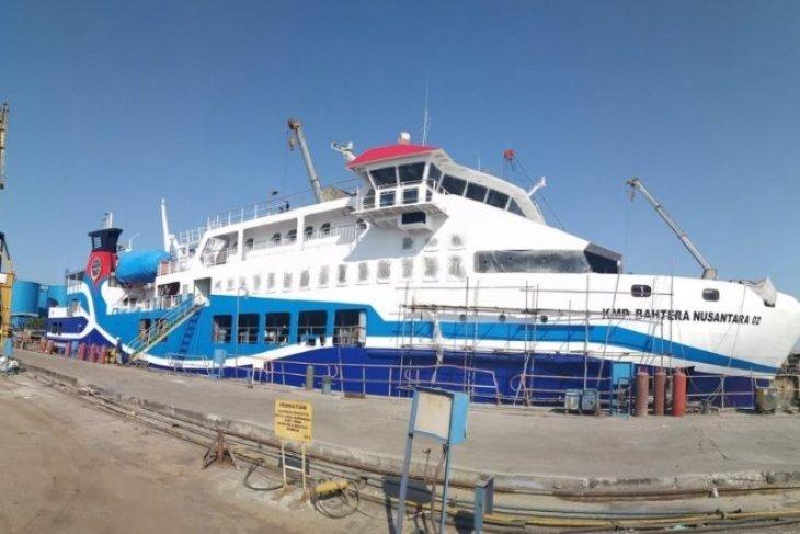 KMP Teluk Ambon kembali melayani trayek Waai - Haruku intensifkan pelayanan