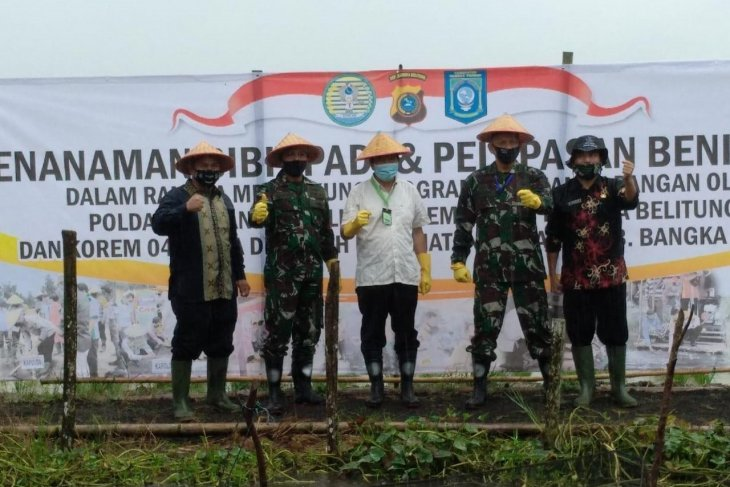 Pemkab Bangka Tengah akan siapkan lahan untuk petani milenial