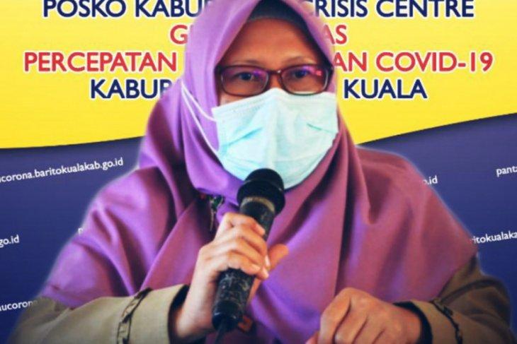 Tujuh warga Kecamatan Alalak kembali dinyatakan positif COVID-19